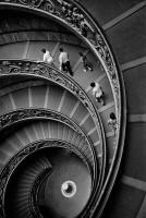Vatican Museum Entrance Stairs, Vatican City, Italy