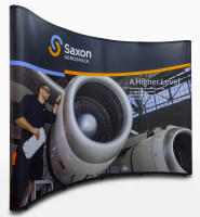 Saxon Aerospace Trade Show Booth Display