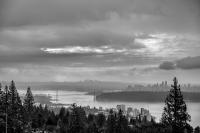 Vancouver from West Vancouver for British Pacific Properties