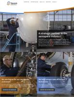 Saxon Aerospace Website